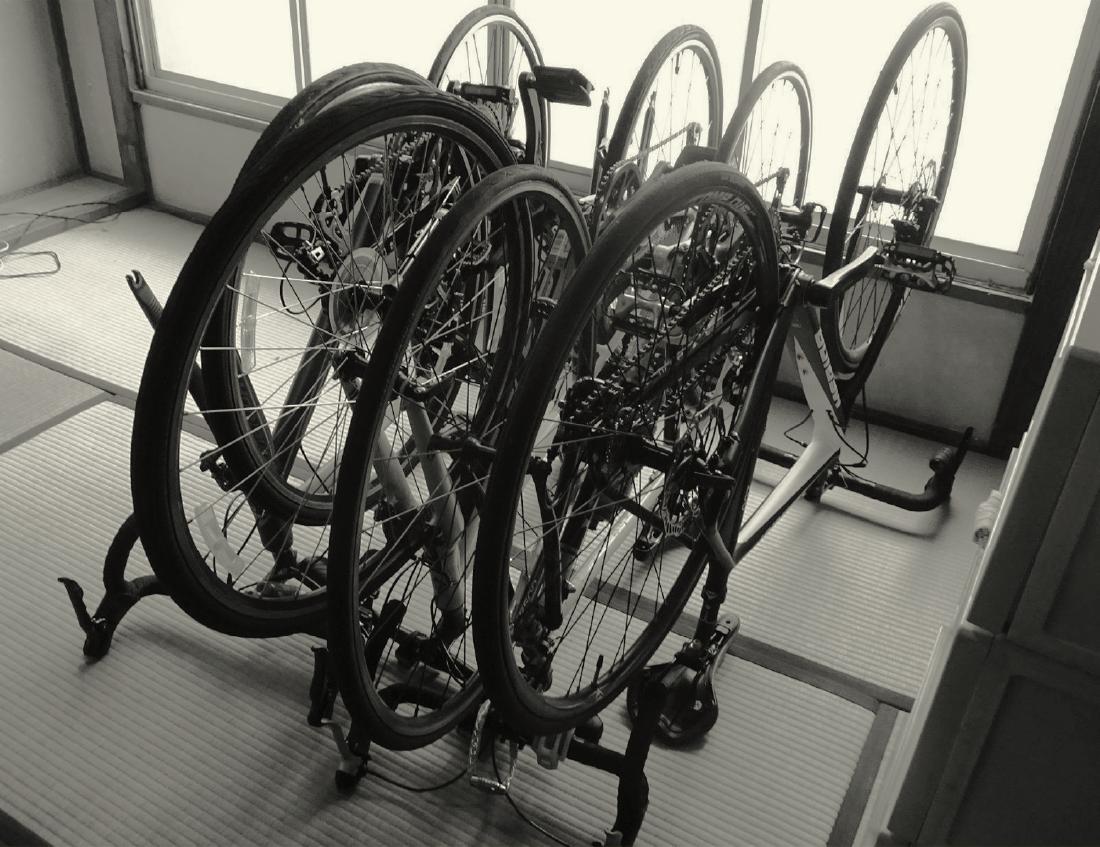 宿泊中の自転車の保管